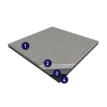 Saga Modular Tiles Lvt Flooring Gerflor Usa