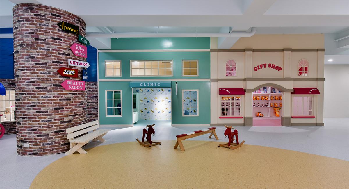 K-12 Playroom Flooring
